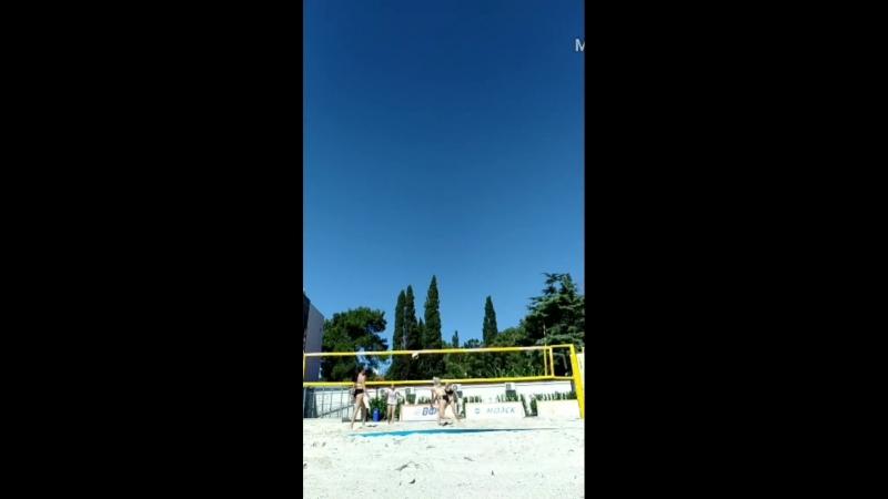11 августа. Пляжный волейбол. Женщины. Сочи. Sport inn