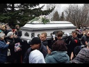 Как принцесса гроб Юли Началовой завалили белыми цветами Похороны прощание со звездой
