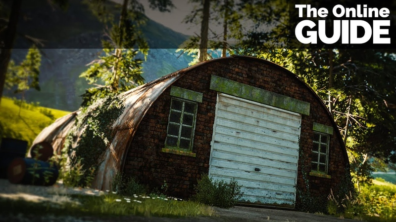 Forza Horizon 4 - All 15 Original Barn Find Locations with Cutscenes