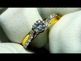 Diamond engagement ring making
