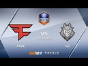 FaZe vs G2, overpass, ECS Season 6 Europe