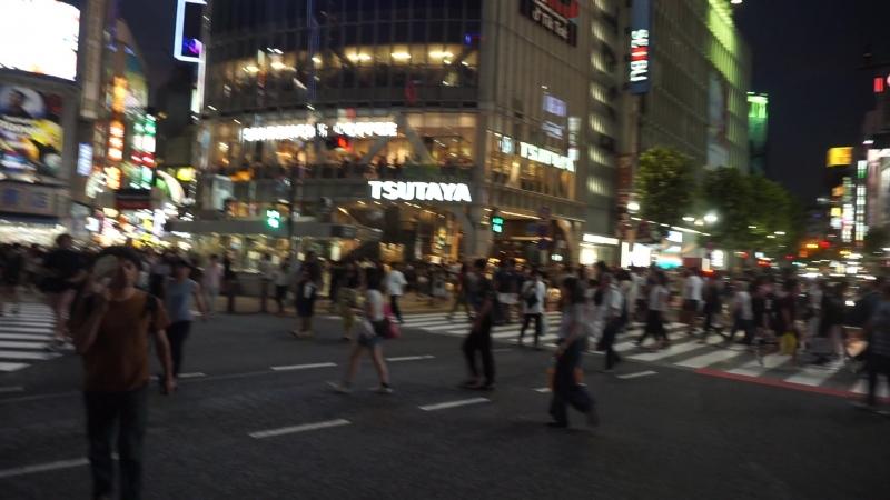 Shibuya Pedestrian 🚶 Japan 2018