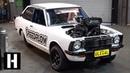 Aussie Burnout Car Anatomy 600hp Methanol V8 ULEGAL Corolla