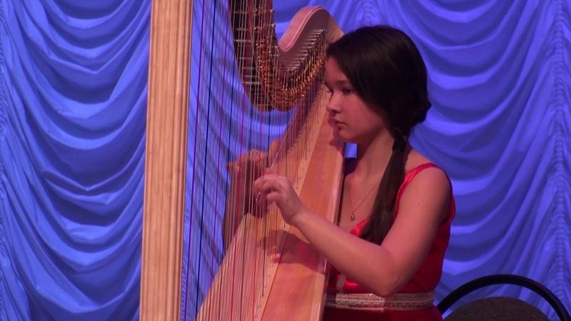 Alphonse Hasselmans - Sérénade Mélancolique (Tatiana Tomilova - harp)