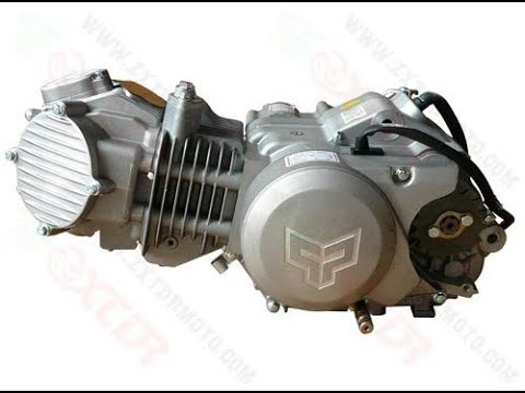 Как обслуживать двигатель на питбайке zs 160 / Замена масла