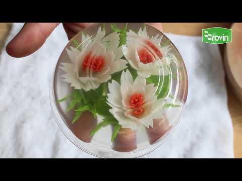 Rau Câu 3D - 3D Jelly Art