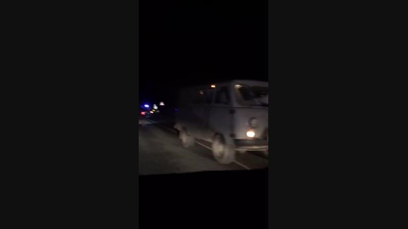 На северодвинской трассе УАЗ насмерть сбил мужчину