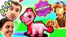 БолтушкА и ПРоХоДиМеЦ Отправились на Пастбище за Супер ДРАКОНОМ! 246 Игра для Детей - Дракономания
