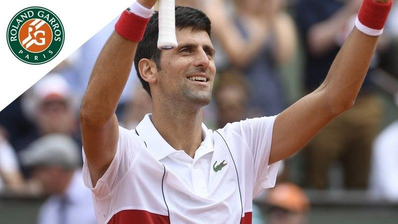 Novak Djokovic vs Jaume Munar - Round 2 Highlights I Roland-Garros 2018