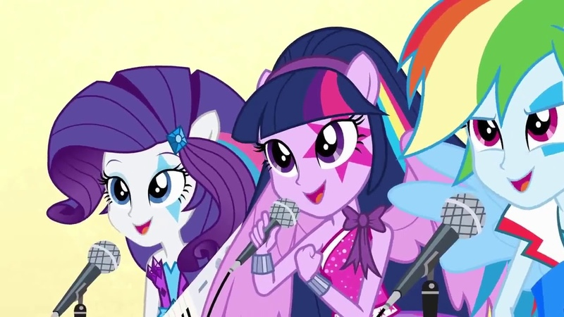 Мой маленький пони: Девочки из Эквестрии – Радужный рок (2014) | Русский трейлер | Смотреть бесплатн