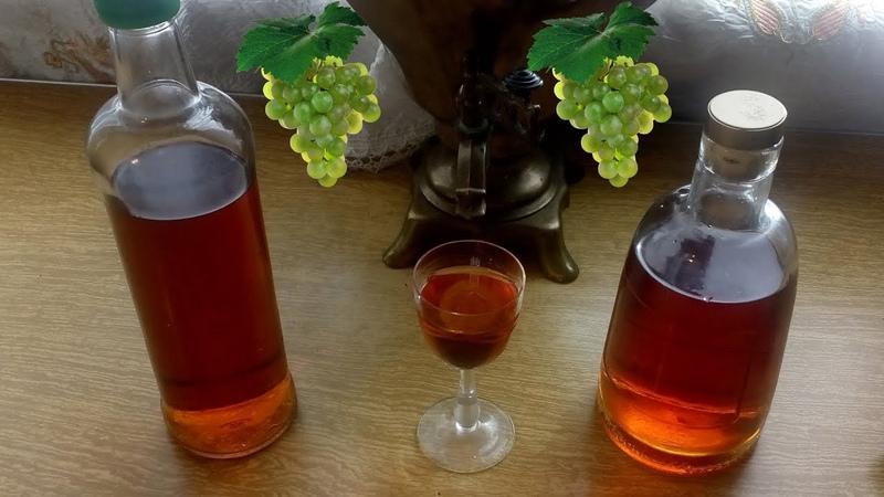 Коньяк из винограда, домашний. (Хеннесси нервно курит в сторонке) Рецепт