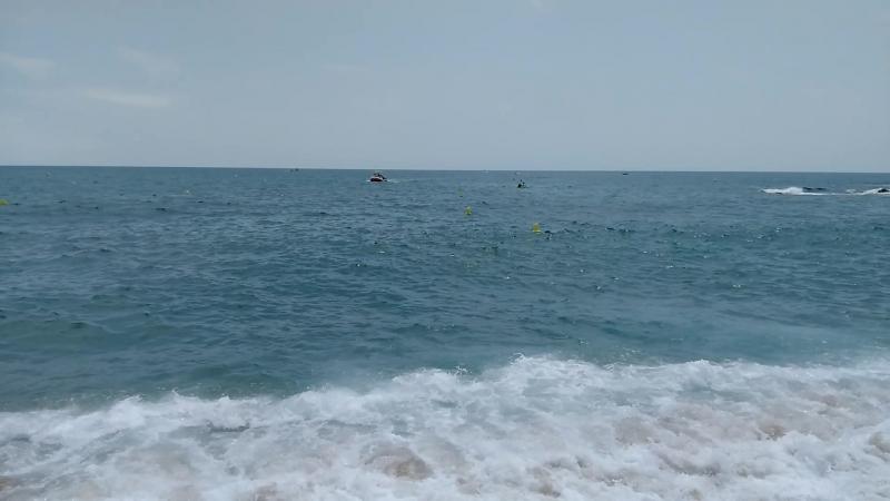Испания. Ллорет де мар. Пляж.