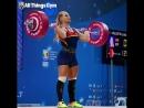 Lydia Valentín 135kg Clean Jerk!