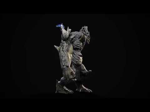 Eduard Oliver Colossal Battle Troll Earth