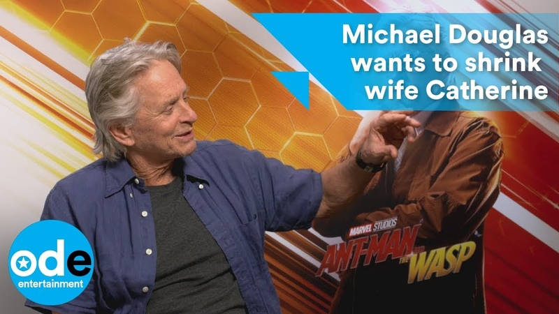 Michael Douglas wants to shrink down wife Catherine Zeta-Jones