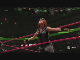 WWE 2k19 Becky Lynch Entrance