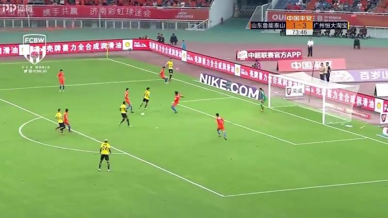 Паулиньо забил очередной мяч в Китае. Теперь у него 8 голов и 5 ассистов за 8 матчей