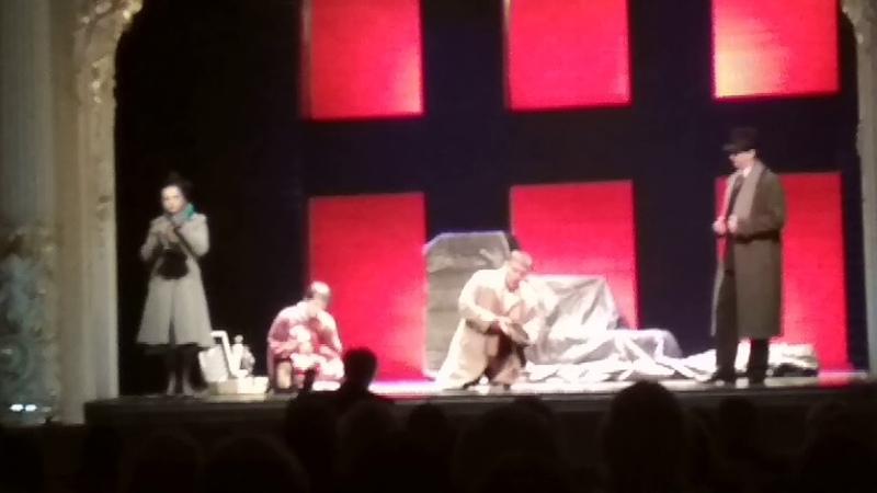 Мадам Баттерфляй 03.02.2012 в Санктъ-Петербургъ опера. Второй акт, Вторая часть.
