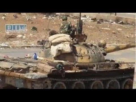 ᴴᴰ Tanks with GoPros™ , get destroyed in Jobar Syria ♦ subtitles ♦
