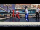 Адамия Георгий (синий угол) vs Вельберг Вова (красный угол), финал, раздел дайт-контакт, 2 раунд