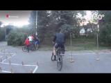 Чемпионат по фигурному катанию на велосипеде в Волгограде