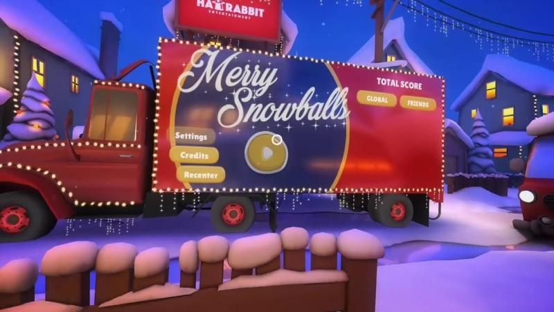 Merry Snowballs (Oculus Go)