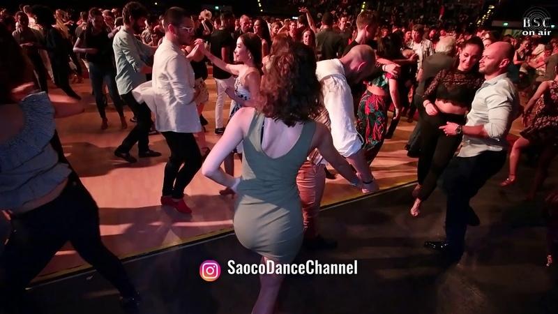 Isaia Leoni and Emmanouela Smyrnaiou Salsa Dancing at Berlin Salsacongress 2018 Sunday 07 10 2018