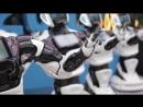 Массовый танец российских роботов Промобот в Астана-Экспо
