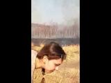 Ребята.. тушите после отдыха на природе огонь...Дети вызывают пожарных.