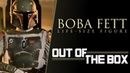 Boba Fett Life Size Figure Out of the Box