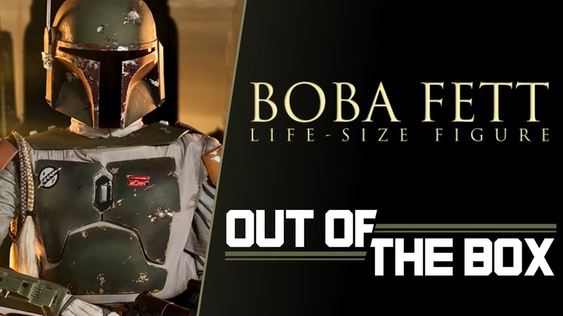 Boba Fett Life Size Figure - Out of the Box