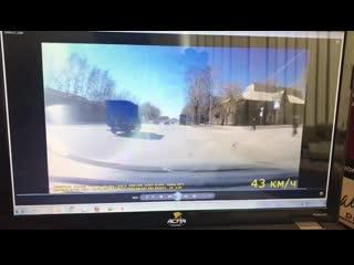 Упал с мотоцикла в Ленинском районе