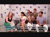 2018 › интервью для «Entertainment Weekly» в рамках конвенции «Comic Con» › 21 июля (русские субтитры)