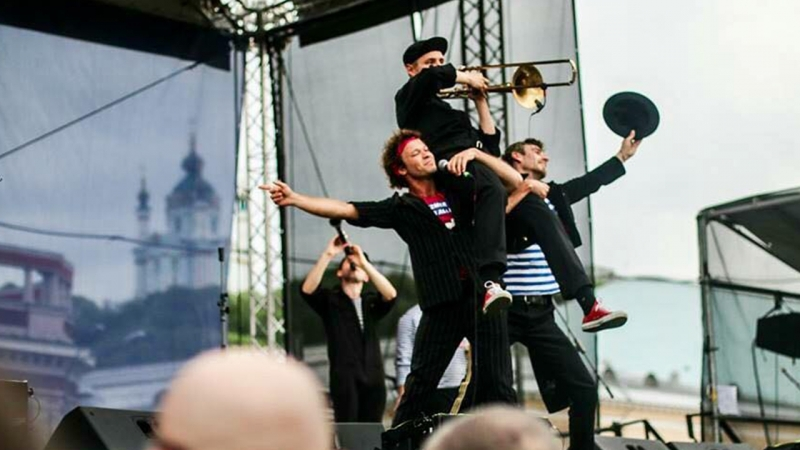 Kyiv Klezmer Fest 2018: Felix Shinder Dengi Vpered. Jam Session (Malox, Amsterdam Klezmer Band)