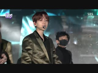FULL CUT 181225 SBS Gayo Daejun @ EXO