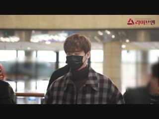 2018 | Ли Чон Сок в международном аэропорту Кимпхо (20 декабря)