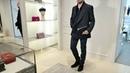 Total-look от Brioni: пиджак Parioli, кардиган, водолазка, джинсы Meribel, портмоне, ботинки, review