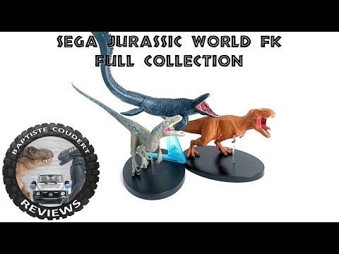 Video Review 2018 Sega Jurassic World Fallen Kingdom Dinosaurs Collection