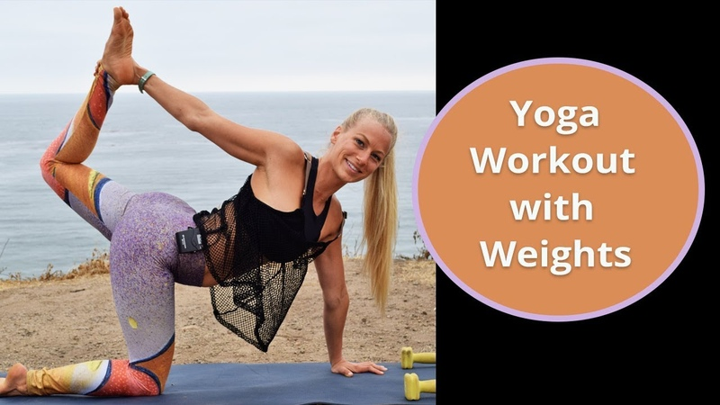 Yoga Workout with Weights - Hybrid Yoga Workout - Yoga Sculpt
