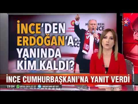 Muharrem İnce'den Erdoğan'a Yola çıktığın arkadaşlarından yanında kim kaldı