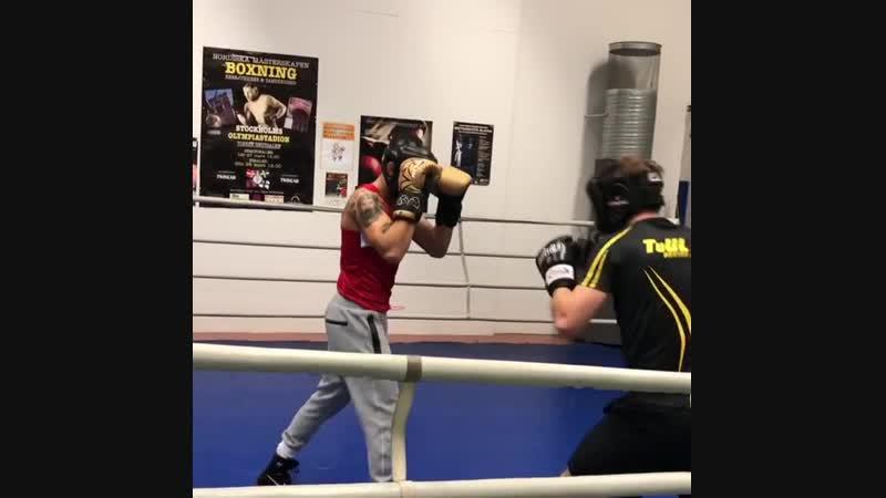 Макван Амирхани Идя вперёд с моим боксом