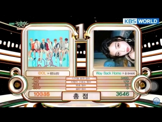 IDOL4thWin , Congratulations BTS for winning the 4th music show award in MUSIC BANK. - - @BTS_twt TheGroup PCAs BTS