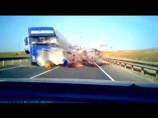 Смертельная авария в Исаклинском районе Самарской области #дтп