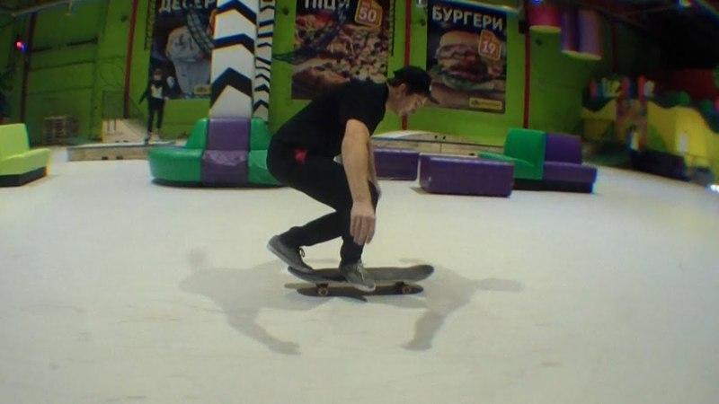 X-foot varial double heel(Igor Shtogryn)