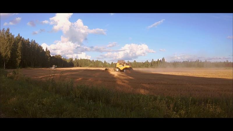 New Holland CR8.90[Version-2][Latvia][ZS Kadiķi M.A.][Real timesound][Video by Farmer_Ren]