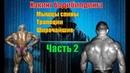 Как накачать мышцы спины. Лучшие упражнения. Техника. Часть 2. Хакинг Бодибилдинга