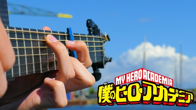 Boku no Hero Academia S2 Opening Peace Sign Fingerstyle Guitar Cover