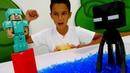 Игры для мальчиков - Стив Майнкрафт или Эндермен! - Кто круче?