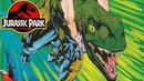 Malcolms Chaos Theory in Effect - The Poor Raptor - Raptor Part 5 - Jurassic Park Comics