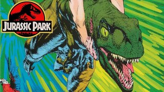 Malcolm's Chaos Theory in Effect - The Poor Raptor - Raptor Part 5 - Jurassic Park Comics
